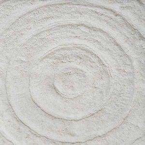 Коврик Белые круги 70x120 см